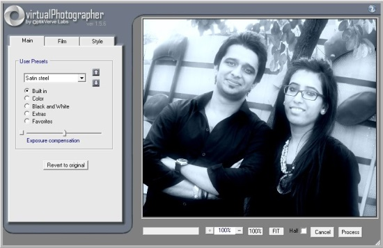 virtualStudio -  virtualPhotographer Plug-in