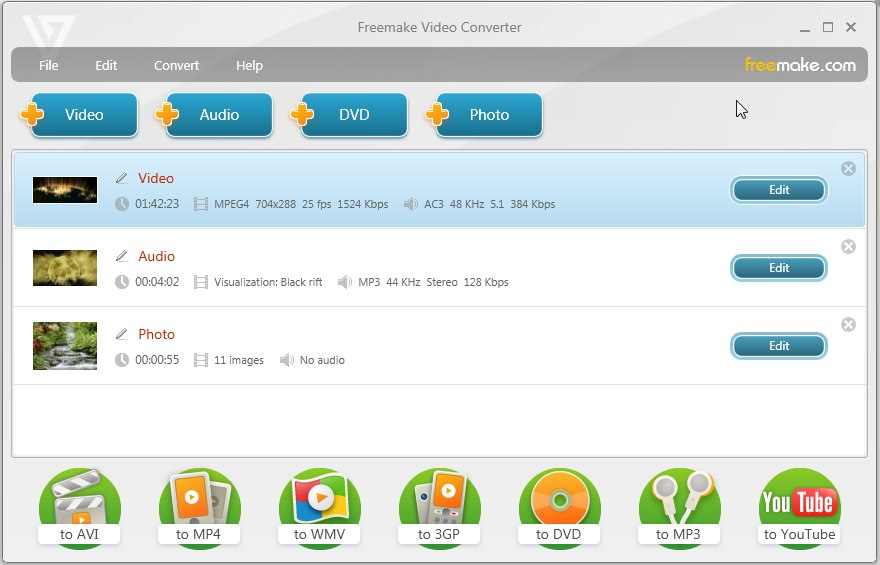 freemake free video converter
