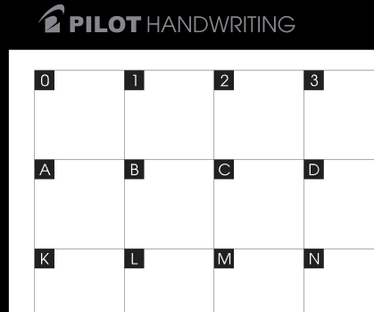 Pilot Handwriting