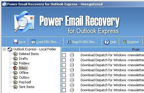 Power Email Recovery