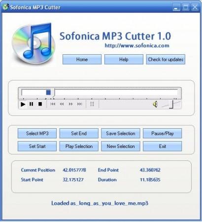 Sofonica MP3 Cutter