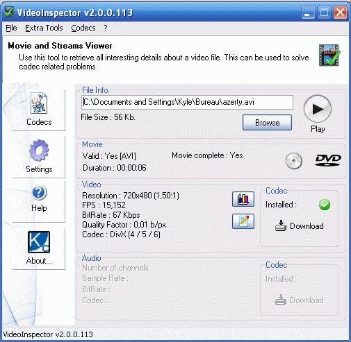 VideoInspector