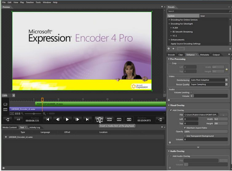 Download Microsoft Expression Encoder