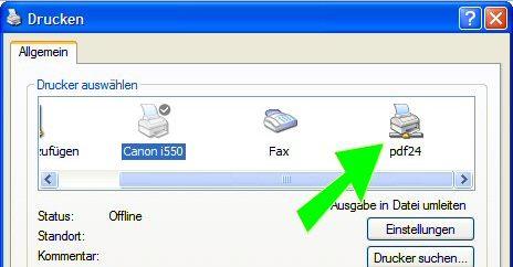 PDF24 PDF Creator