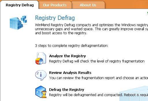 Registry Defrag