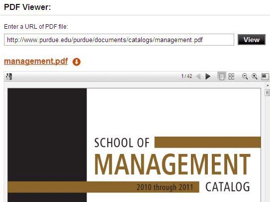 Free online PDF viewer