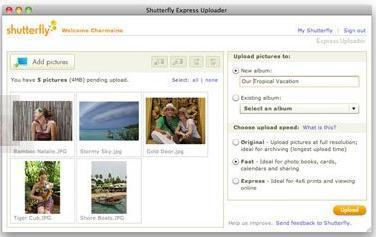 Shutterfly Express Uploader
