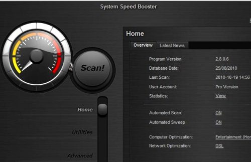 System Speed Booster