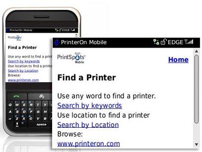 PrinterOn Mobile