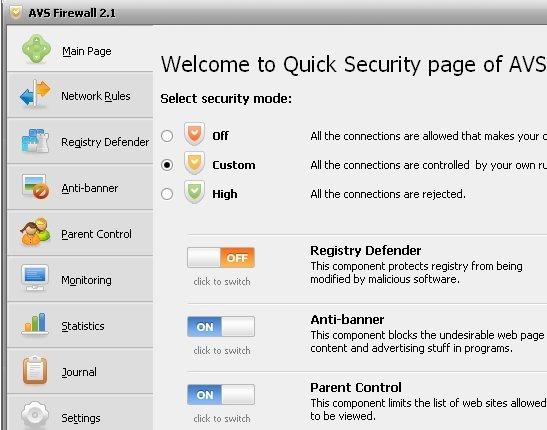 AVS Firewall