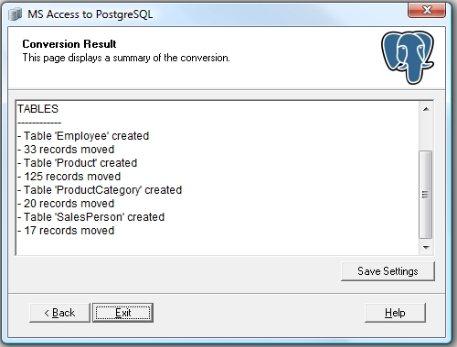 Access to PostgreSQL