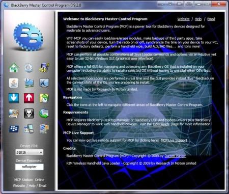 Blackberry Master Control Program