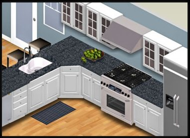 3d kitchen design online free 5 free home design software techno world 7344
