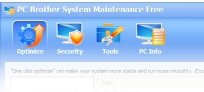 PC Brother System Maintenence