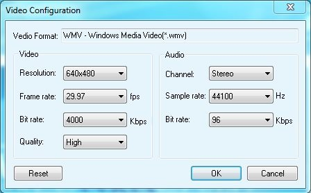 PowerDVDpoint - AudioVideo Properties
