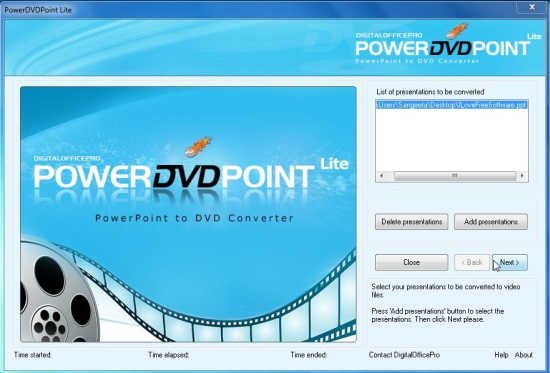 PowerDVDpoint - Video Converter Wizard