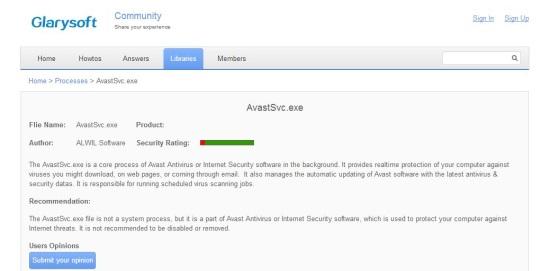 Security Process Explorer - Community Rating