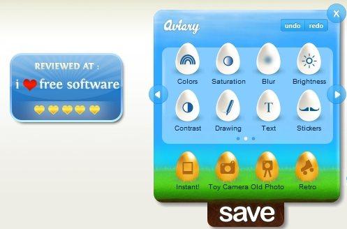Aviary HTML5
