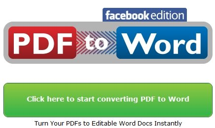 Facebook PDF Converter