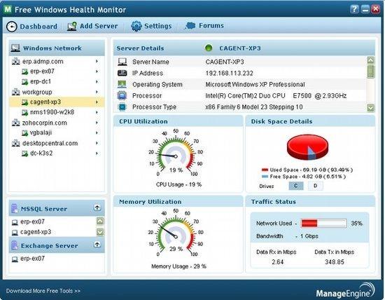 Windows Health Monitor