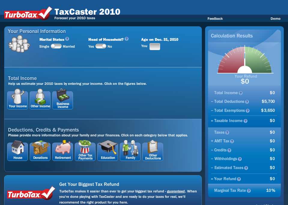 taxcaster