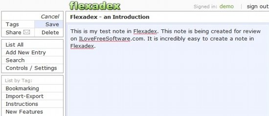 Flexadex