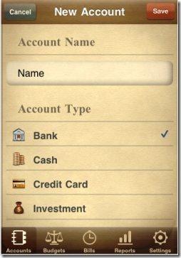 Jumsoft Money iPad