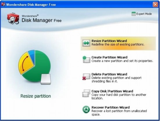 Wondershare Disk Manager