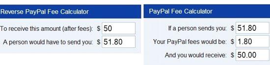 paypal fee