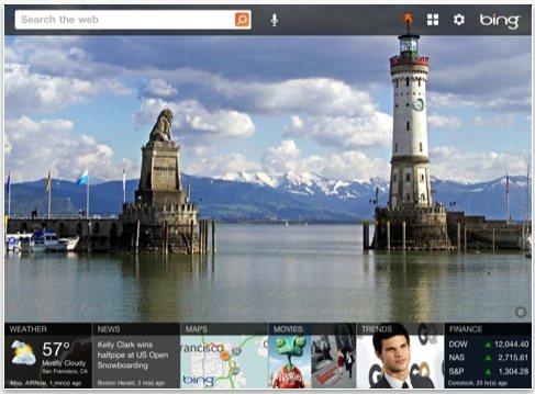 Bing Search iPad