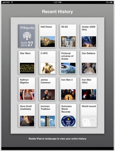 Discover iPad