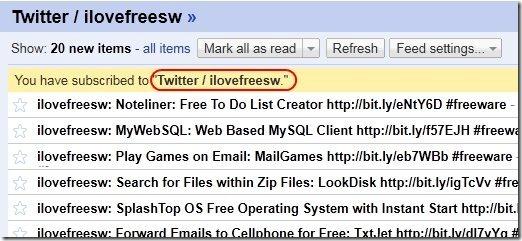 Google reader Twit