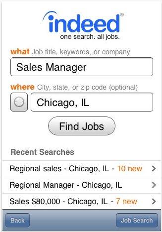 JobSearch iPad