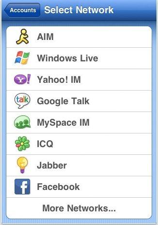 Meebo iPad