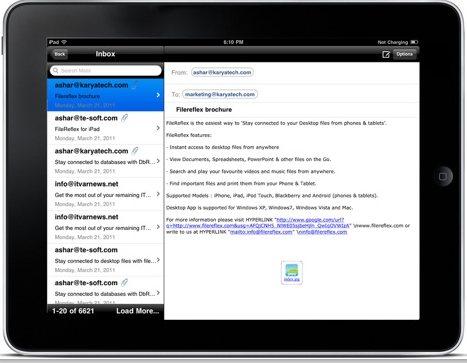 OutlookReflex iPad