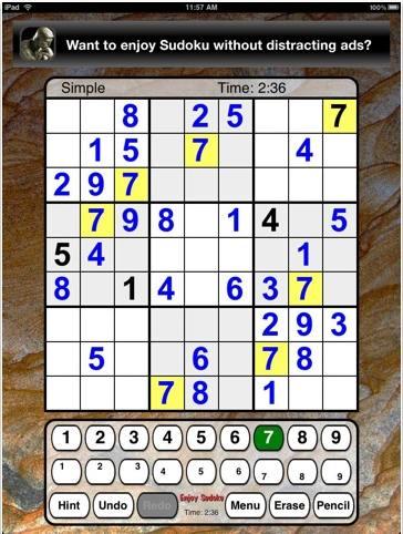 Sudoku Joy iPad