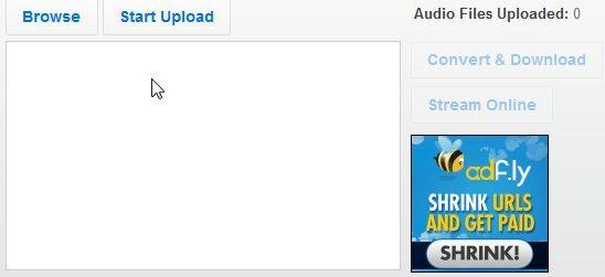 audio converter upload