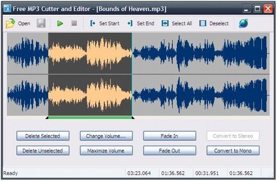Free MP3 Editor Cutter