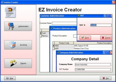 ezinvoice creator