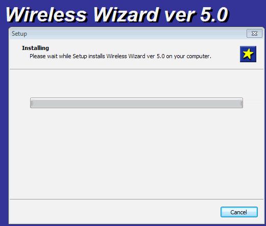 Wireless Wizard Installation