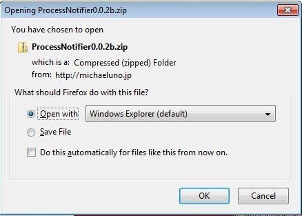 download popup window