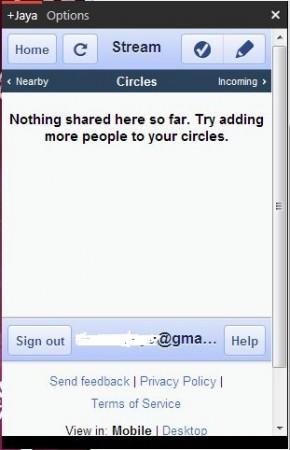 login screen gclient