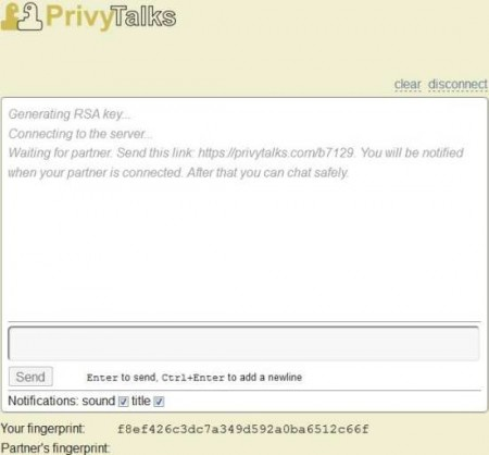 privytalks invite link