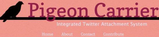 pigeon carrier logo
