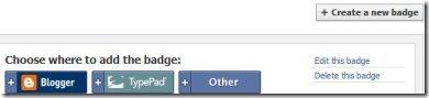 Facebook Badge 1