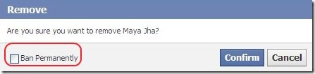 Facebook member removal 3