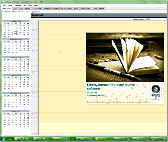 GoswainthaDiary-Journal Software