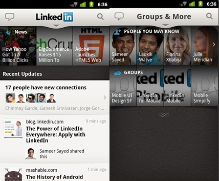linkedin apps for android