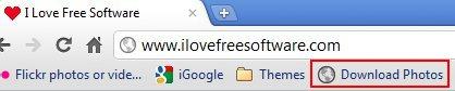 PhotoLive browser link