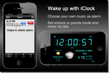 free alarm clock apps for iphone 4